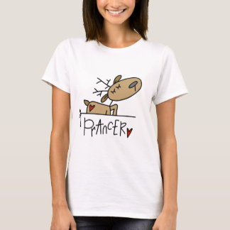 Prancer Reindeer Tshirts and Gifts