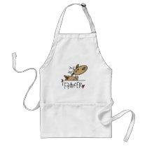 Prancer Reindeer Tshirts and Gifts Adult Apron