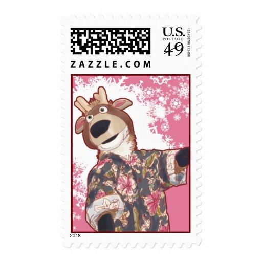 Prancer stamp