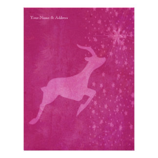 Prancer the Star Letterhead