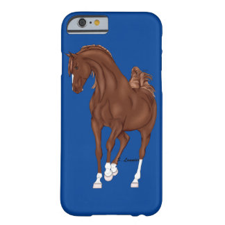 Prancing Chestnut Arabian Horse Barely There iPhone 6 Case