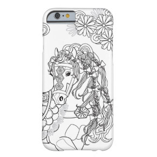 Prancing Daisy Horse Apple iPhone 6/6s Phone Case