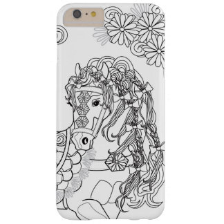 Prancing Daisy Horse iPhone 6/6sPlus, Barely There Barely There iPhone 6 Plus Case