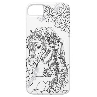 Prancing Daisy Horse iPhone SE + iPhone 5/5s iPhone SE/5/5s Case