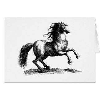 Prancing Horse, Greeting Card