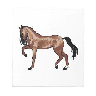 Prancing Horse Notepad