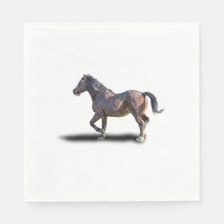PRANCING HORSE PAPER NAPKIN