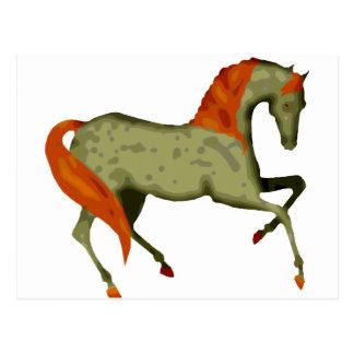 Prancing Horse Postcard