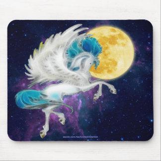 Prancing Pegasus & Magic Moon Mouse Pad