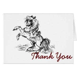 Prancing Pony Card