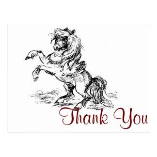 Prancing Pony Postcard