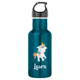 Prancing Unicorn So Cute Water Bottle