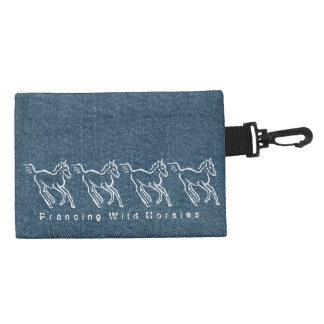 Prancing Wild Horsies Accessory Bag