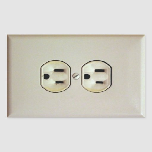 prank wall outlet decal rectangular sticker zazzle franklins kite outlet wall sticker designer plug wall decal