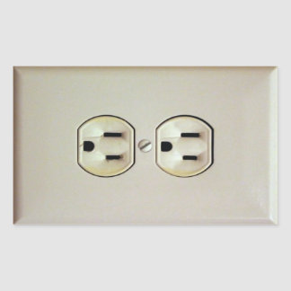 Prank Wall Outlet Decal Stickers