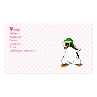 Prankster Penguin Business Card