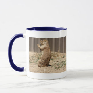 Prarie Dog Eating Grass Mug