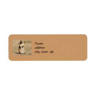Prarie Dog Return Address Labels
