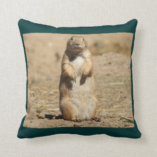 Prarie Dog Throw Pillow