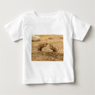 Prarie Dogs Give Me Some Skin Baby T-Shirt