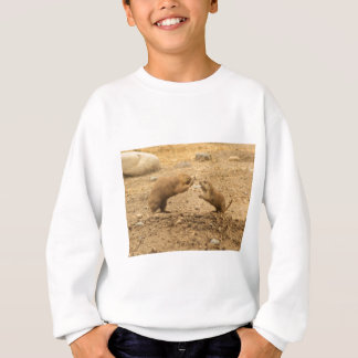 Prarie Dogs Give Me Some Skin Sweatshirt