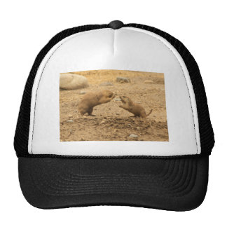 Prarie Dogs Give Me Some Skin Trucker Hat