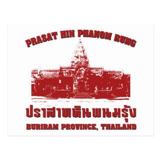 Prasat Hin Phanom Rung, Buriram, Isaan, Thailand Postcard