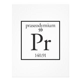 Praseodymium Personalized Flyer