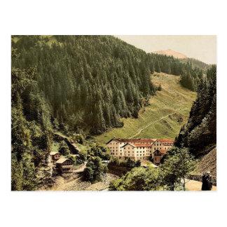 Pratigau, the Baths of Fideris, Grisons, Switzerla Postcard