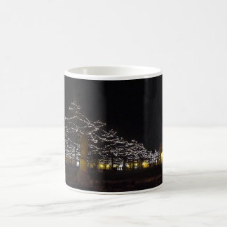 Prato della Valle by night at Christmas Classic White Coffee Mug