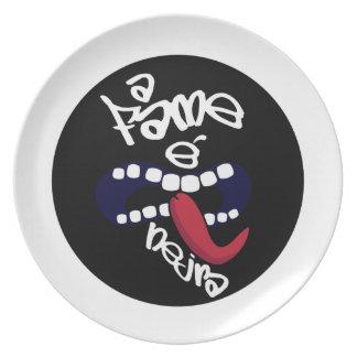 Prato Fame nejra Plate