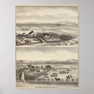 Pratt, Stewart farms Print