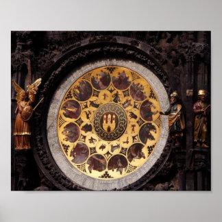 Prauge Clock Decoration