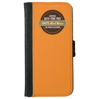 Prava Sessions 100% Real Music iPhone Wallet Case iPhone 6 Wallet Case