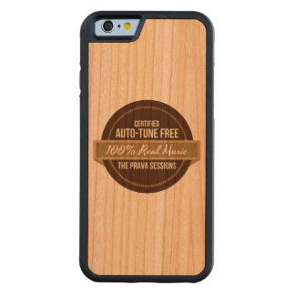 Prava Sessions 100% Real Music, Wood iPhone Case Carved® Cherry iPhone 6 Bumper