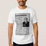 Pravda newspaper shirt