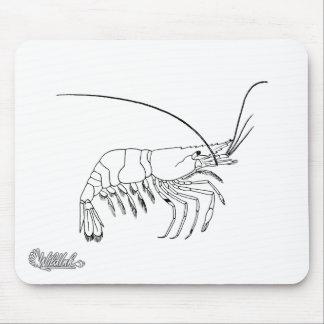 Prawn Art Mouse Pad