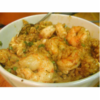 Prawn Fried Rice Shrimp Bowls Acrylic Cut Outs