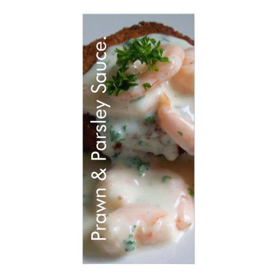 Prawn & Parsley Sauce Recipe Card
