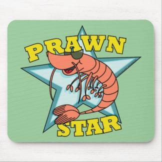 Prawn Star Mouse Pads