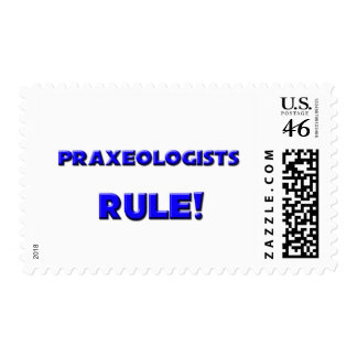 Praxeologists Rule! Stamp