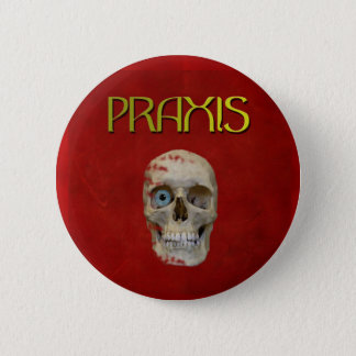 Praxis Gold Badge Button