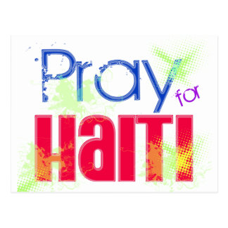 PRAY4HAITI POSTCARD