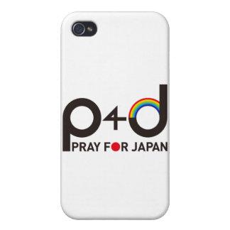 Pray 4 Japan iPhone 4 Cover