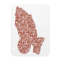 hands, magnet, hospitals, pray, blessings, faith, love, church, pastor, minister, [[missing key: type_fuji_fleximagne]] com design gráfico personalizado