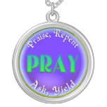 PRAY ACRONYM NECKLACE - PRAY REPENT ASK YIELD