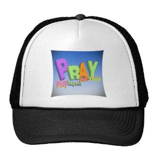 PRAY ACRONYM - PRAY REPENT ASK YIELD TRUCKER HAT