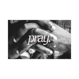 pray.all over canvas print