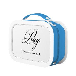 Pray Alway Custom Yubo Lunchbox