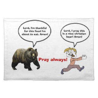 Pray Always Placemat